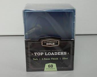 Détenteurs de la carte en plastique rigide ou de manches - ACEO taille - pack de 25-3 x 4 pouces