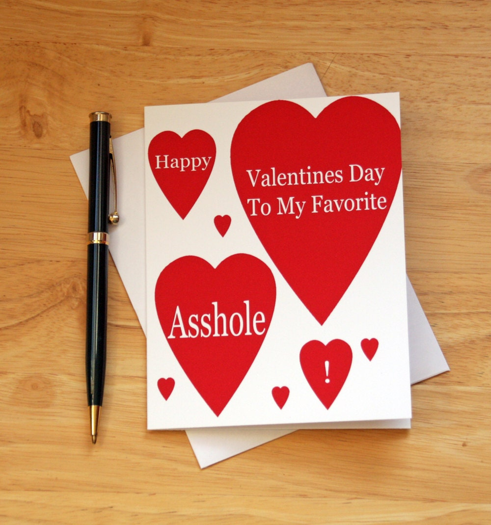 naughty valentines dirty card valentines card sarcastic