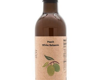 White Peach Balsamic Vinegar, 12.6oz.
