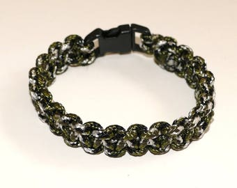 Paracord Bracelet 325 Army Camo 8.75 Inches