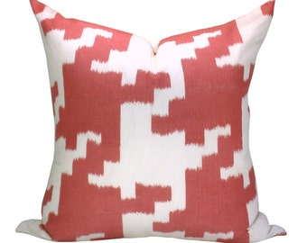 Lina pillow cover in Rose Indien