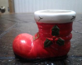 Lefton santa boot