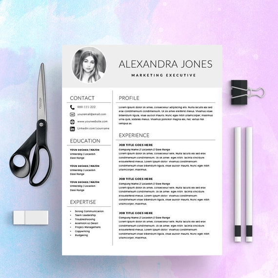 Nurse Resume Template Medical Cv Cv Template Cover