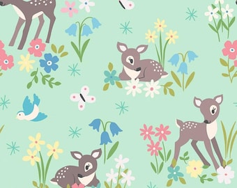 So Darling! from Lewis & Irene LTD, Little Deer on mint green, yard