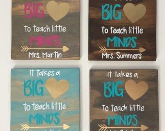 Teacher Gift, Teacher Appreciation Gift, End Of the Year Gift, Gifts for Teachers, Rustic Wood Sign, Hand Painted Wood Sign, Teacher Sign,