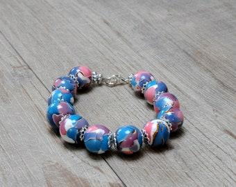 Jewelry gift handmade polymer clay beads