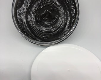 Clarifying Charcoal Face Scrub, Activated Charcoal Face Scrub, Handmade Natural Face Scrub, Acne Scrub, Natural Face Mask Scrub, Acne Care