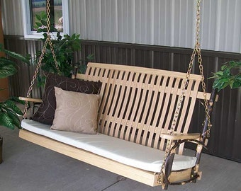 Hickory 4 ft. Porch Swing