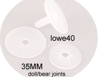 45MM plastic doll joints 12 sets bear doll making