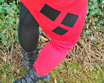 Harley Quinn any size costume Cosplay Pants Arkham City