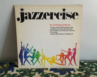 Vintage Jazzercise Record with Poster