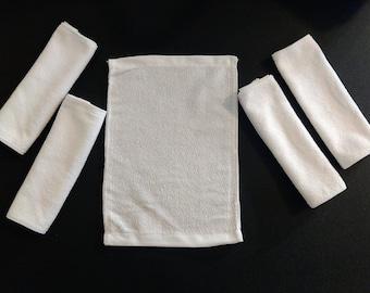 Blank Wash Cloths (5)