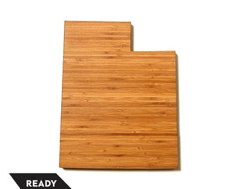 On Sale! Utah State Cutting Board, Personalized Cutting Board, Custom Cutting Board, Unique Wedding Gift, Personalized Gift