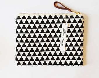 modern clutch bag small purse make up bag cosmetic bag market bag leather cotton handbag