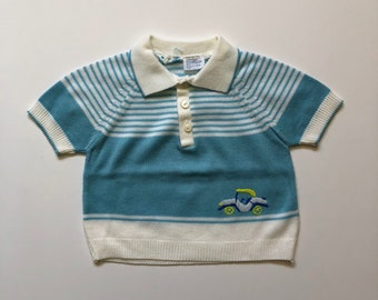 1970's Roadster Knit Top (18 months)