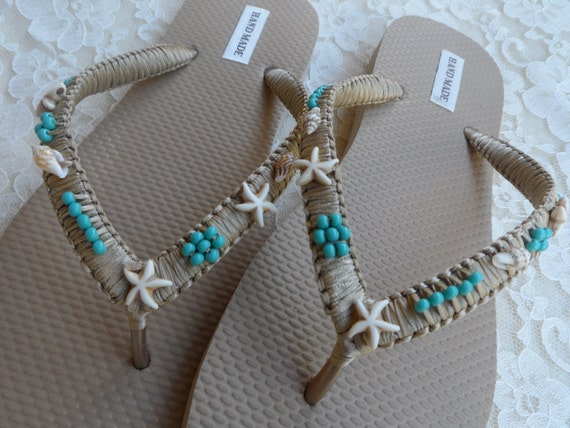 Flip Shell Summer Flip Wedding Flops Flip Starfish Beach Flops Bohemian and Flops Style Bridal Beach Sandals Gold Shell Flops Flip pqO8wZE