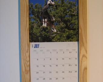 Ash calendar frame by Deezsticks