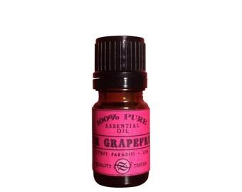 Grapefruit, Pink Essential Oil, Citrus paradisi, USA - 5 ml