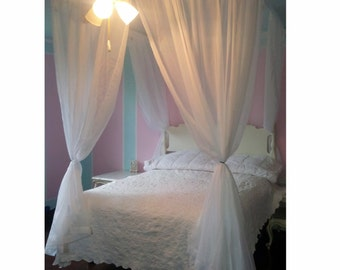 Bed Canopy Custom Hanging Bedroom Curtains And Hardware