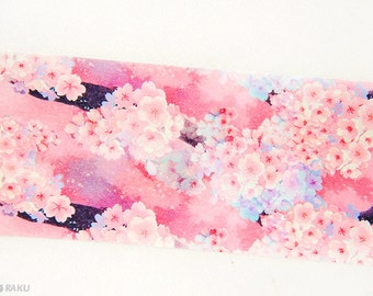 Last stock- - - - - Taiwan Designers personal special order washi paper masking tape - Limited Edition cherry bloom sweet pink Sakura 1 roll