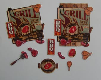 Images vintage grill / BBQ