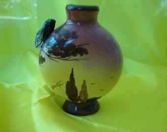 Vase signed L. Benty from France 1945