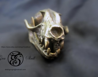 Fruit Bat Skull Pendant