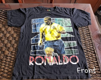 90s vintage Ronaldo HOT ICE t-shirt