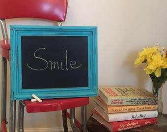 Framed Chalkboard, Chalkboard, Rustic Chalkboard, Farmhouse Chalkboard, Kitchen Decor, Kitchen Chalkboard, Farmhouse Kitchen, Country Sign