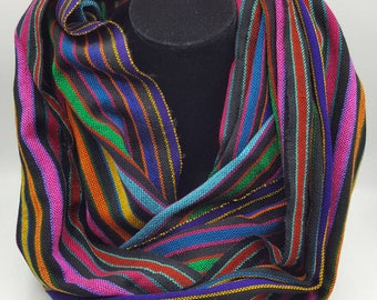 Multi Colored Infinity Scarf