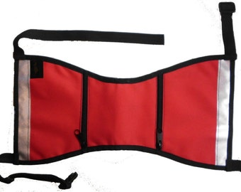 Service dog vest-Medium-Comes in red, blue, dark green, camo and orange.  (fits 50-90 lbs)