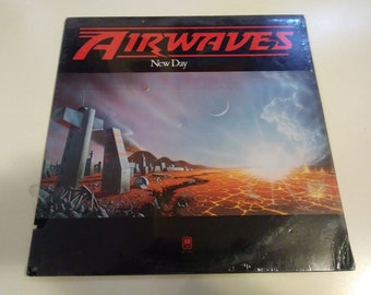 Airwaves - New Day Brand New Sealed A&M SP-4689 Record 1978 - Old Store Stock Pop Rock