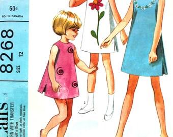 UNCUT Helen Lee Dress with Transfers Size 12