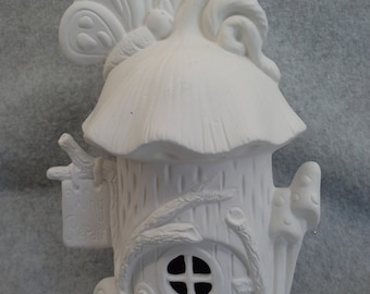 Ceramic Butterfly Chalet Bisque (unfinihed)