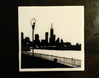 Chicago Skyline - coaster