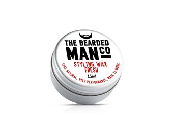Fresh Moustache Wax 1 x 15g Tin