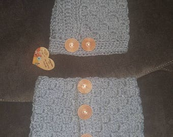 Cowl and hat set