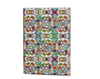 summer sun - 100% recycled paper notebook