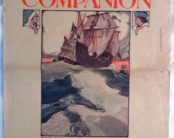 Jack London short story Youth's Companion 1904 first edition magazine illustrated