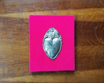 Antique Silver Italian Ex voto Votive Heart