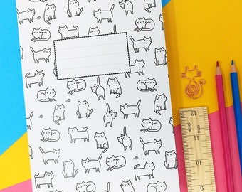 Lots of Cats A5 Notebook