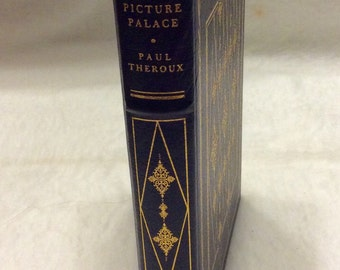 Paul Theroux Picture Palace 1978 First Edition Franklin library leather gold gilt mint