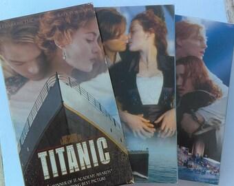 Titanic VHS vintage movie / film for VCR Titanic James Cameron