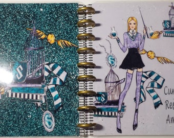 Slytherin Bundle 4 Planner Covers or Dashboards | Wizard School