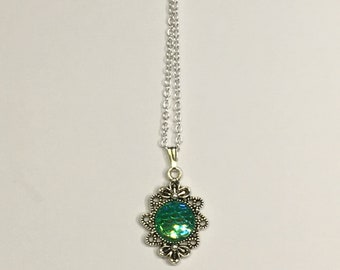 Little Mermaid Scale Necklace