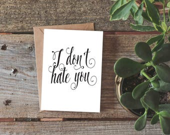 Funny Anniversary Card for Boyfriend or Husband, Funny Valentine's Day Card, Funny Anniversary Card for Girlfriend, Sarcastic Love Card