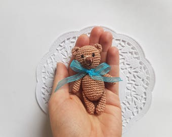 cute teddy bear brooch women accesorise crochet brooches  fashion jewellery baby pin brooches baby brooch teddy brooch crochet brooch animal