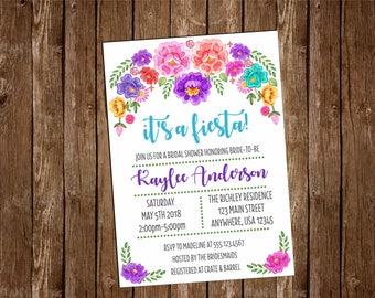 Fiesta bridal shower | Etsy