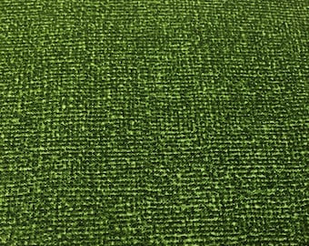 Green: Burlap brights from Benartex By the yard