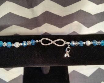 Beautiful Infinity Rhinestone Bracelet